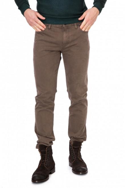 Джинсы мужские светло-коричневые Аlberto