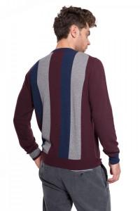 Пуловер чоловічий зі смугами Harmont & Blaine