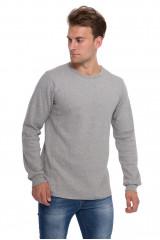 Пуловер мужской серый Junk de Luxe
