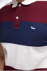 Поло мужское с логотипом Harmont&Blaine