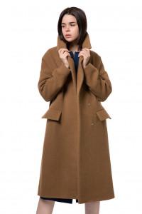 Пальто женское светло-коричневое Iris Janvier