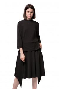 Платье черного цвета Iris Janvier