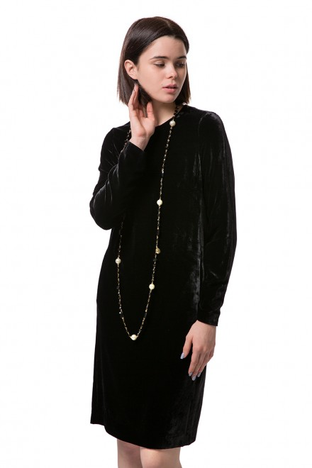 Платье черного цвета Luisa Cerano