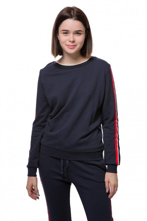 Пуловер женский синий Косса