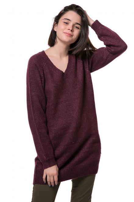 Пуловер женский бордовый Blend she