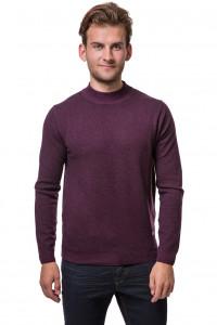 Пуловер мужской бордового цвета с логотипом бренда Fynch-Hatton