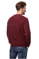 Пуловер мужской бордовый Fynch-Hatton