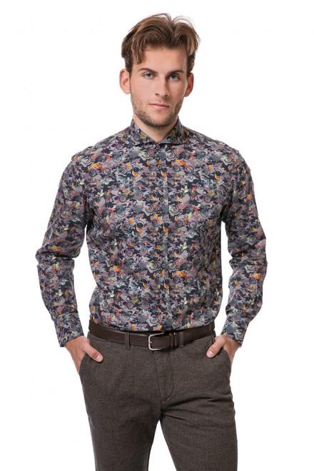 Рубашка мужская разноцветная van Laack LESON