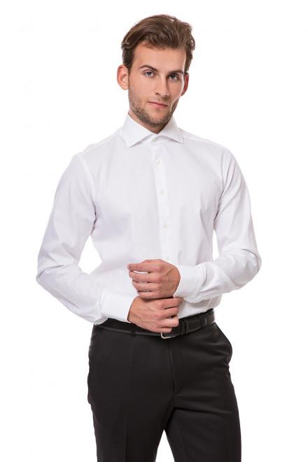 Рубашка мужская белая приталенная van Laack RIVARA