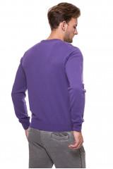 Пуловер мужской фиолетовый Harmont&Blaine