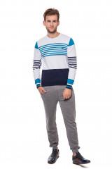 Пуловер в полоску Harmont&Blaine