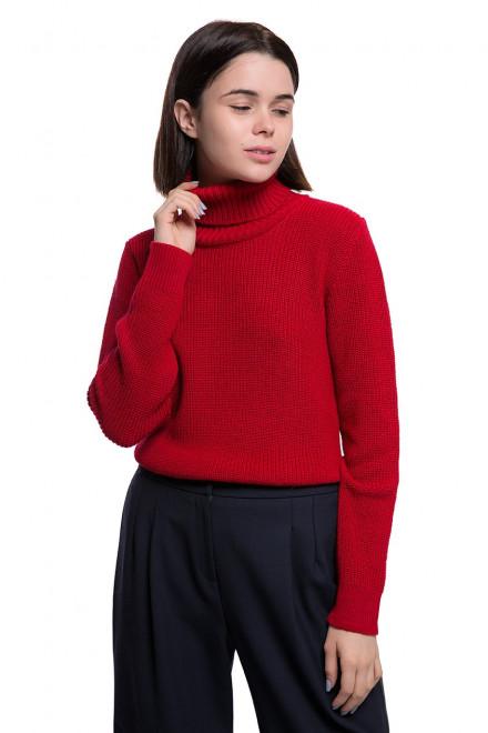 Пуловер женский красный Weill