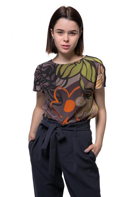 Блуза женская с цветочным принтом Luisa Cerano