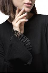 Пуловер женский черный Luisa Cerano