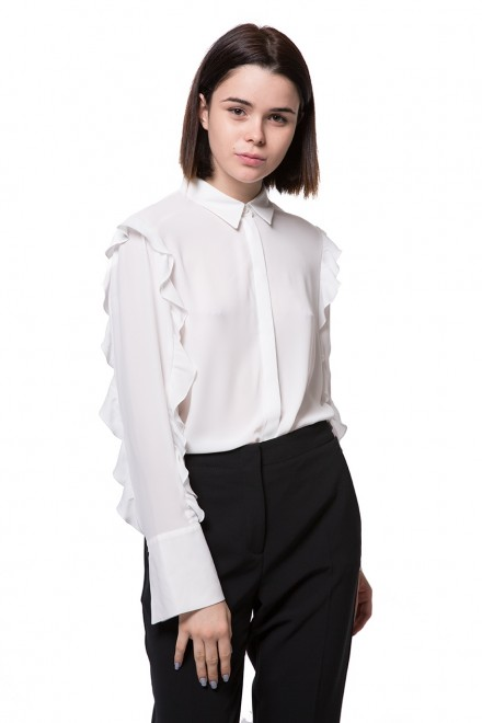 Блуза женская белая Luisa Cerano