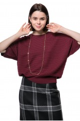 Пуловер женский бордовый Weill