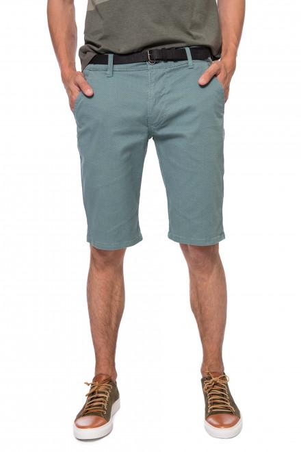 Шорты мужские мятного цвета  длиной до колена Lindbergh