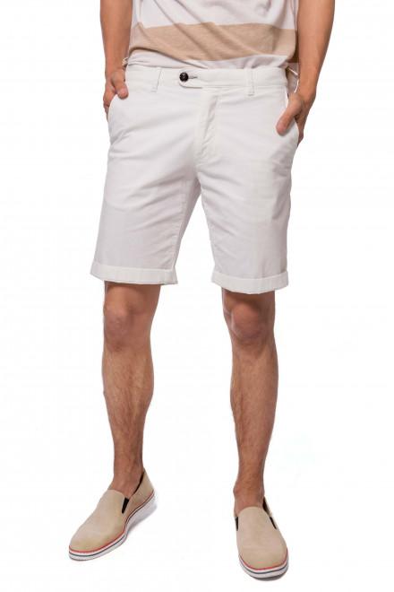 Шорты мужские белого цвета длиной до колена Fynch-Hatton