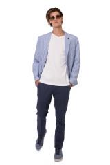 Полосатый пиджак Harmont & Blaine 4