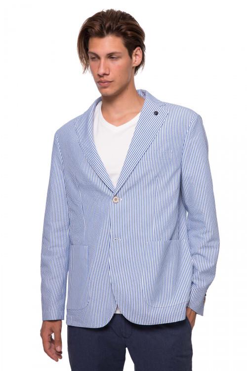 Полосатый пиджак Harmont & Blaine