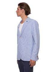 Полосатый пиджак Harmont & Blaine 1