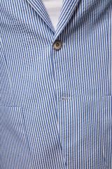 Полосатый пиджак Harmont & Blaine 3