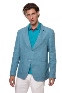 Пиджак голубого цвета Harmont & Blaine