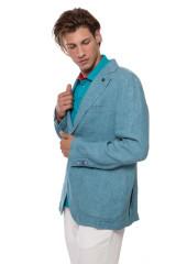 Пиджак голубого цвета Harmont & Blaine 1