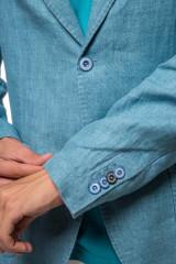Пиджак голубого цвета Harmont & Blaine 3