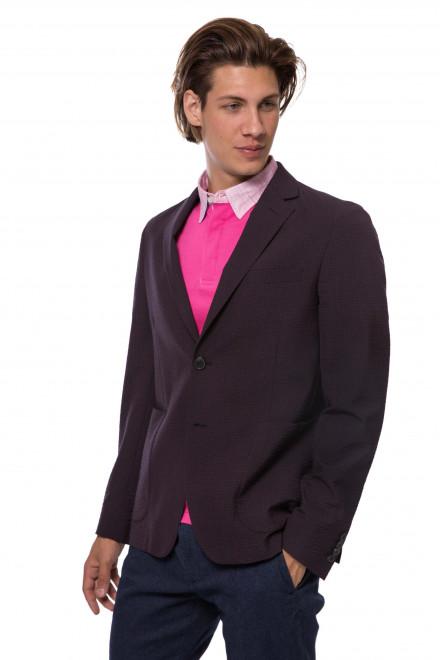 Пиджак мужской однобортный бордового цвета Pal Zileri