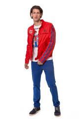 Куртка мужская красного цвета Blauer.USA 5
