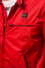 Куртка мужская красного цвета Blauer.USA 3