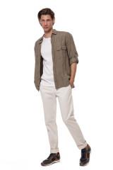 Светло-бежевые джинсы Blauer.USA 4
