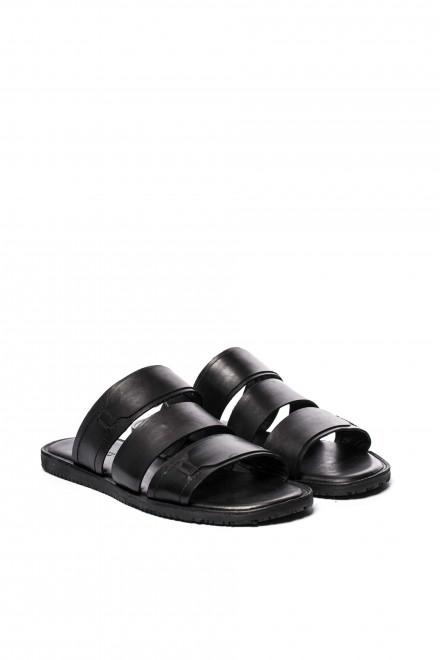 Сандалии мужские черного цвета Antony Morato