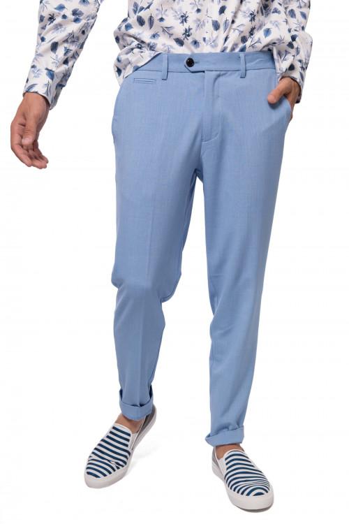 Штаны мужские светло-синего цвета Lindbergh