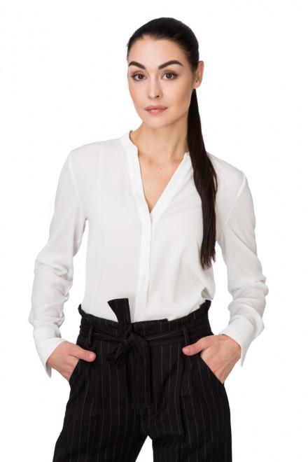 Блуза женская с длинным рукавом белая Косса