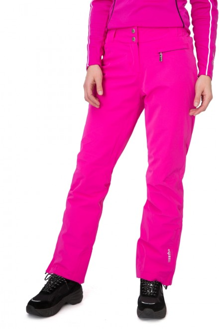 Штаны женские лыжные на молнии розовые Zero rh+