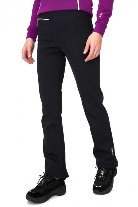 Штаны женские черные с молнией Zero rh+