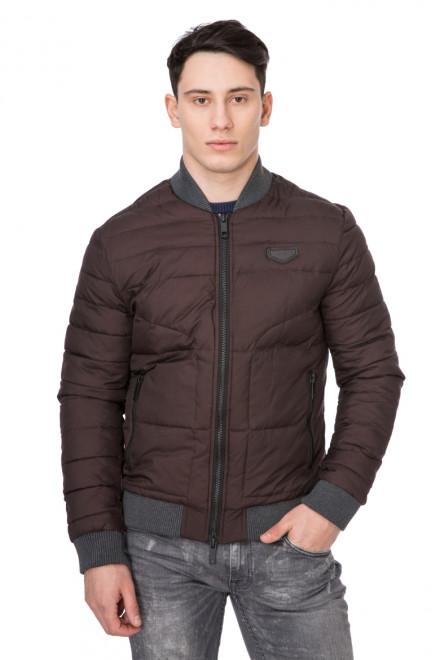 Куртка мужская короткая фиолетовая Antony Morato