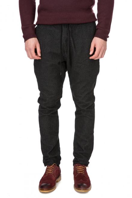 Штаны мужские на шнурке темно-серые Antony Morato