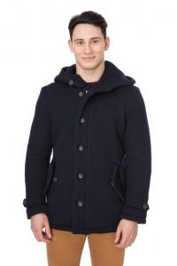 Пальто мужское с капюшоном Wool & Co