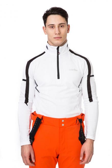 Лыжный белый  пуловер RH+