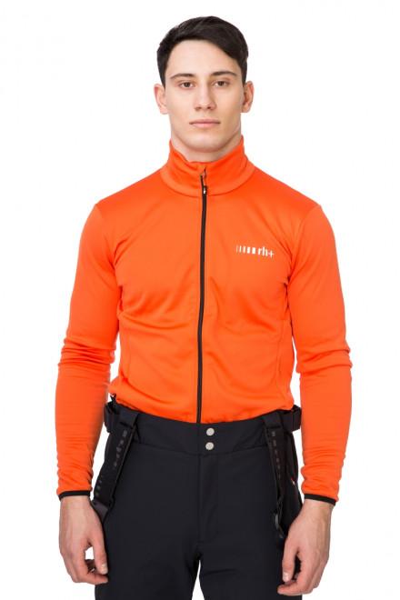 Кардиган мужской лыжный оранжевый Zero rh+