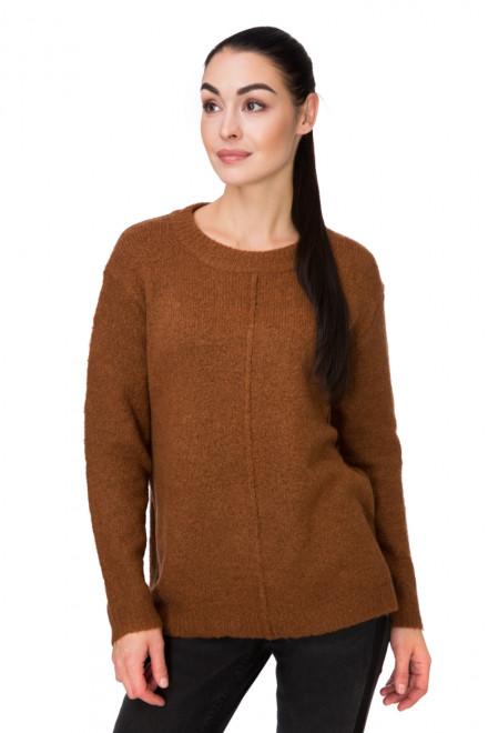 Пуловер женский широкий терракотовый B.young