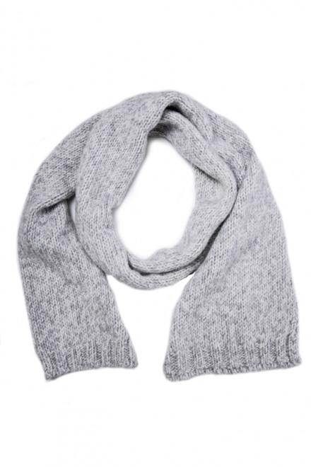 Шарф мужской светло-серый Wool & Co