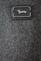 Куртка мужская с капюшоном короткая серая Harmont & Blaine