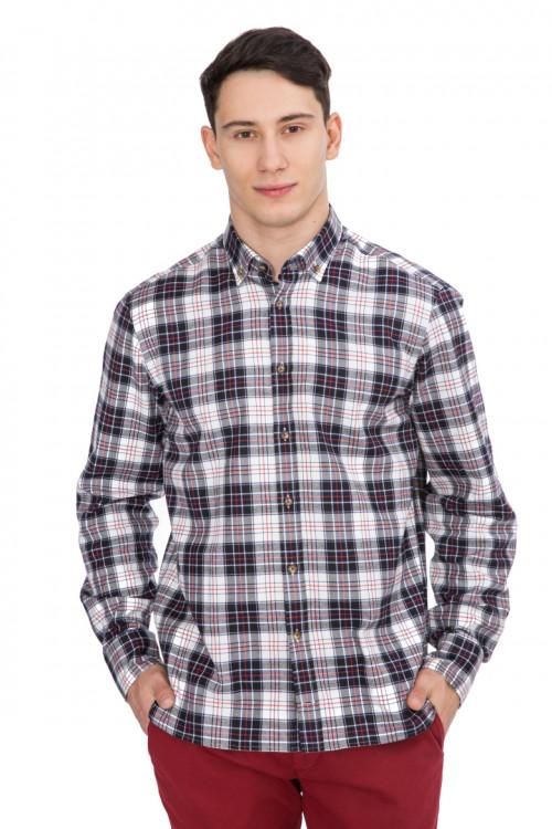 Рубашка мужская в клетку van Laack