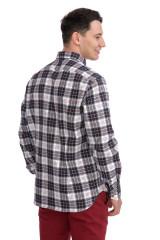 Рубашка мужская в клетку van Laack 2