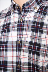 Рубашка мужская в клетку van Laack 1