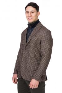 Коричневый пиджак Harmont & Blaine